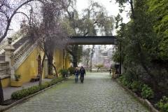 Gardens of Cerro Santa Lucía, Santiago