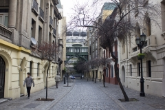 Back streets of Santiago