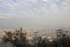 Santiago as viewed from Cerro San Cristobal