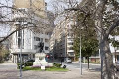 Bellas Artes street scene, Santiago