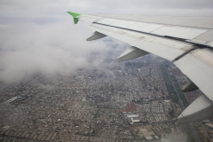 Departing from Santiago's Pudahuel airport