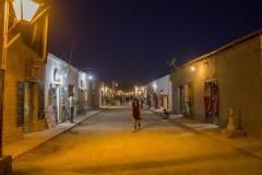 San Pedro de Atacama nighttime street scene