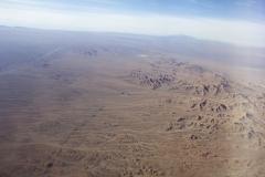 Flying over the Atacama Desert