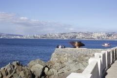 The Pacific Ocean as seen from Valparaíso
