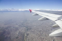 Departing Santiago's Pudahuel airport