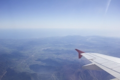 Passing over the Chilean countryside