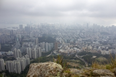 Kowloon as viewed from Lion Rock