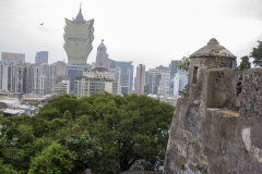 Macau as seen from Monte del Forte