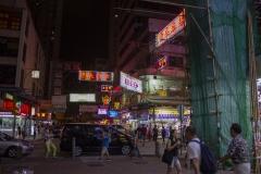Mong Kok street scene, Kowloon