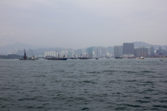 Victoria Harbour from the ferry to Cheung Chau