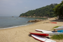 A Cheung Chau beach