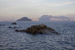View of Hong Kong Island from Peng Chau