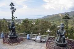 Looking towards Macau from the Big Buddha