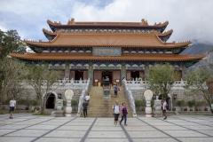 Lantau Island's Po Lin Monastery, home of the Big Buddha