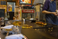 Okonomiyaki restaurant, Kyoto
