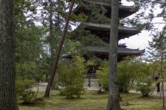 Ninna-ji Temple pagoda, Kyoto
