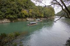 Katsura River gorge, Arashiyama, Kyoto