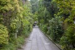 Temple alongside the Philosopher's Path, Kyoto