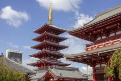 Sensō-ji at Asakusa Shrine, Taito, Tokyo