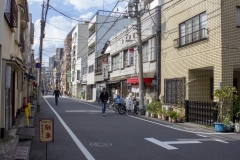 Back streets of Taito near Ueno station, Tokyo