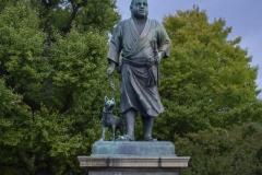 Saigo Takamori Statue (The Last Samurai), Taito, Tokyo