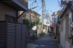 Back streets of Taito near the Asakusa Museum of Sculpture, Tokyo