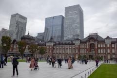 Plaza outside Tokyo Station, Chiyoda