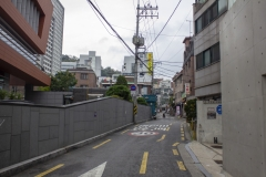 Back streets of Hongdae, Seoul