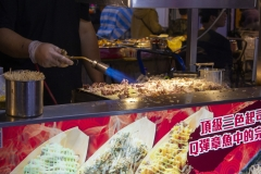 Squid bread at Raohe Night Market