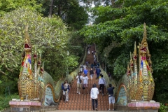 Wat Phra That Doi Suthep steps, Chiang Mai, Thailand