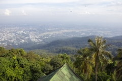 Chiang Mai as viewed from Wat Phra That Doi Suthep, Thailand