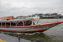 Chao Phraya Express Boat, Thonburi, Bangkok, Thailand