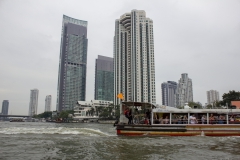 Bangkok from the Chao Phraya River on the Chao Phraya Express Boat