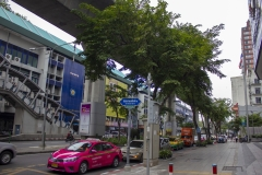 Street scene near Siam Square, Bangkok, Thailand