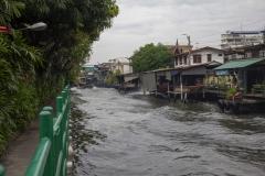 The Saen Saep Express Boat, Bangkok, Thailand
