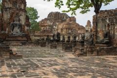Ruins of Wat Mahathat, Ayutthaya, Thailand