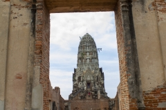 Ruins of Wat Ratburana, Ayutthaya, Thailand