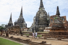 Ruins of Wat Phra Si Sanphet, Ayutthaya, Thailand