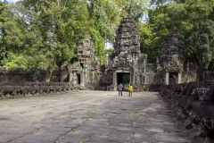 Entrance to Preah Khan Temple, Angkor complex, Cambodia