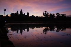 Sunrise at Angkor Wat, Angkor complex, Cambodia