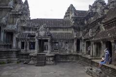 Ruins of Angkor Wat, Angkor complex, Cambodia