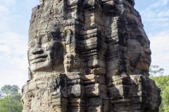 The smiling faces of Bayon Temple, Angkor Thom, Angkor complex, Cambodia