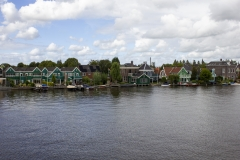 Zaandam and the Zaan river, Netherlands