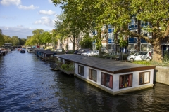 Canal in Jordaan, Amsterdam