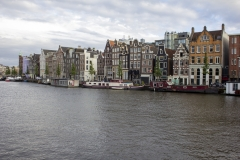 Houses along the Amstel, Canal District, Amsterdam