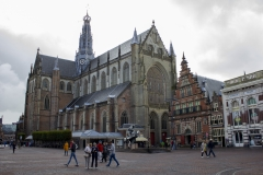 St. Bavo Church and Grote Markt, Haarlem