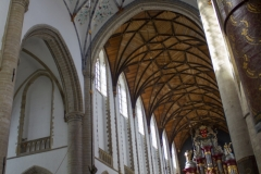 Inside St. Bavo Church, Haarlem. The organ was supposedly played by both Mozart and Handel.