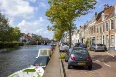 Streets and canals of Haarlem