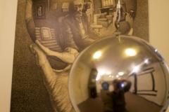 Interactive art, Escher in Het Paleis museum, The Hague