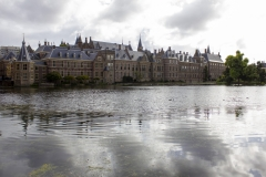 The Binnenhof – the Dutch parliament – and the Hofvijver, The Hague